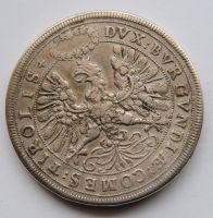 Rakousko - Tyroly 2 Tolar arcivévoda Leopold svatební 1607-1632