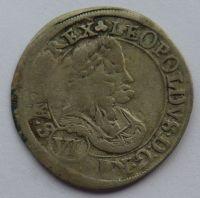 Rakousko VI. Krejcar 1670 Leopold I.