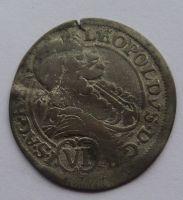 Rakousko VI. Krejcar 1687 Leopold I.