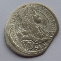 Rakousko VI. Krejcar 1690 Leopold I.