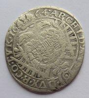 Rakousko Vídeň XV. Krejcar 1664 Leopold I.