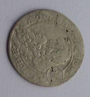 Slezsko Břeh 3 Krejcar CB 1696 Leopold I.