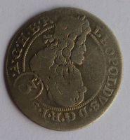 Slezsko Břeh 3 Krejcar CB 1698 Leopold I.