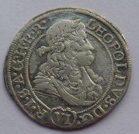 Slezsko Vratislav VI. Krejcar 1684 Leopold I.