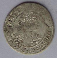 Uhry Bratisl. 3 Krejcar CH 1696 Leopold I.
