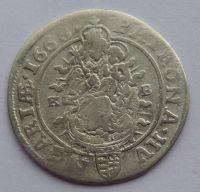 Uhry KB VI. Krejcar 1668 Leopold I.