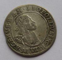 Uhry VI. Krejcar 1667 Leopold I.
