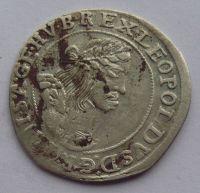 Uhry VI. Krejcar 1668 Leopold I.