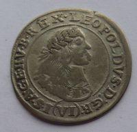 Uhry VI. Krejcar 1669 Leopold I.