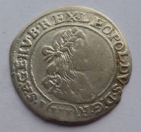 Uhry VI. Krejcar 1674 Leopold I.