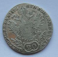 Čechy 20 Krejcar 1830 C František II.