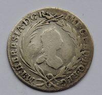 Čechy Praha 10 Krejcar 1760 Marie Terezie
