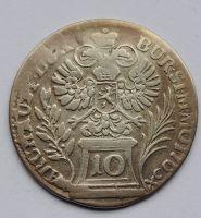 Čechy Praha 10 Krejcar 1763 Marie Terezie