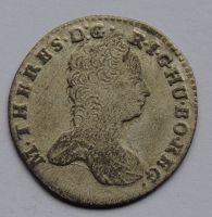 Čechy praha 3 Krejcar 1762 Marie Terezie