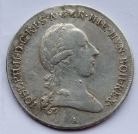 Rakousko 1/2 Tolar m. ouš. 1789 A Josef II.