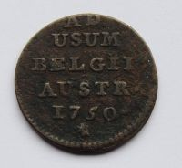Rakousko 1 Liard 1750 Marie Terezie
