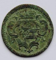 Rakousko 1 Soldo 1757 Marie Terezie
