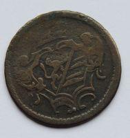 Rakousko 1 Soldo 1758 Marie Terezie