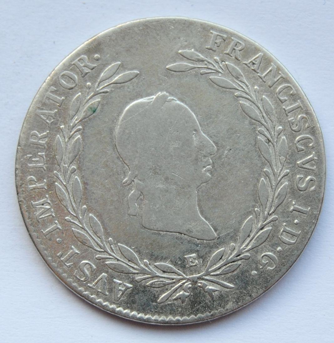 Rakousko 20 Krejcar 1828 E František II.