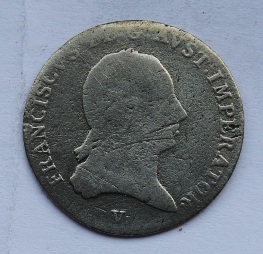 Rakousko 3 Krejcar 1815 V František II.
