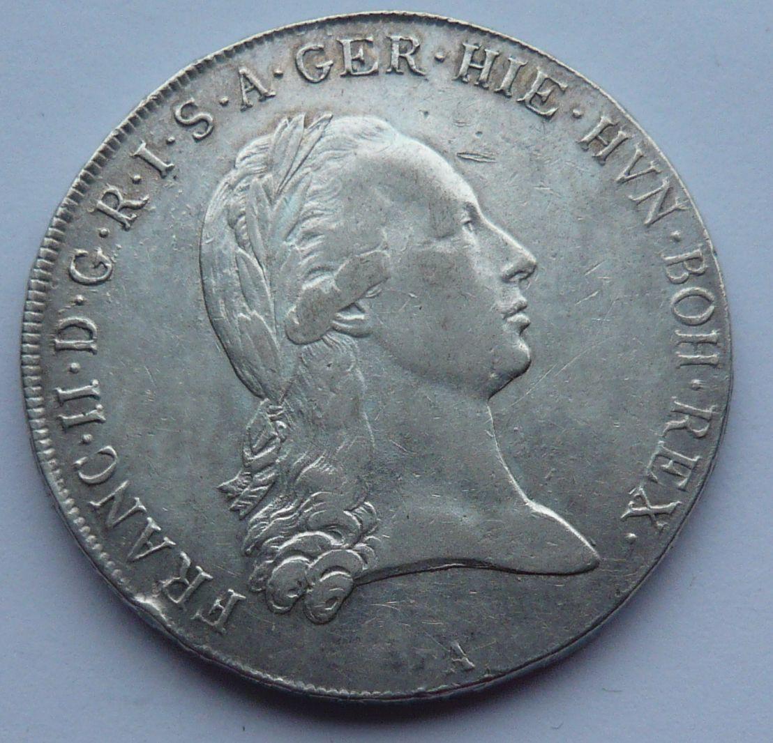 Rakousko Tolar křížový 1794 A František II.