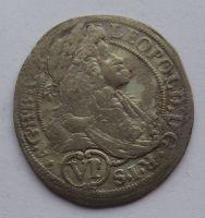 Rakousko VI. Krejcar 1657-1705 Leopold I.