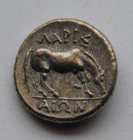Řecko - císařství, Thesalonika, Drachma 330 př.n.l. - KOPIE