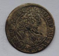 Slezsko 3 Krejcar 1706 FN Josef I.