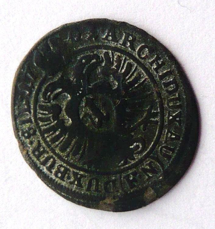 Slezsko Opolí 1 Krejcar 1701 FN Leopold I.