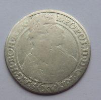Slezsko SHS XV. Krejcar VRATISLAV 1664 Leopold I