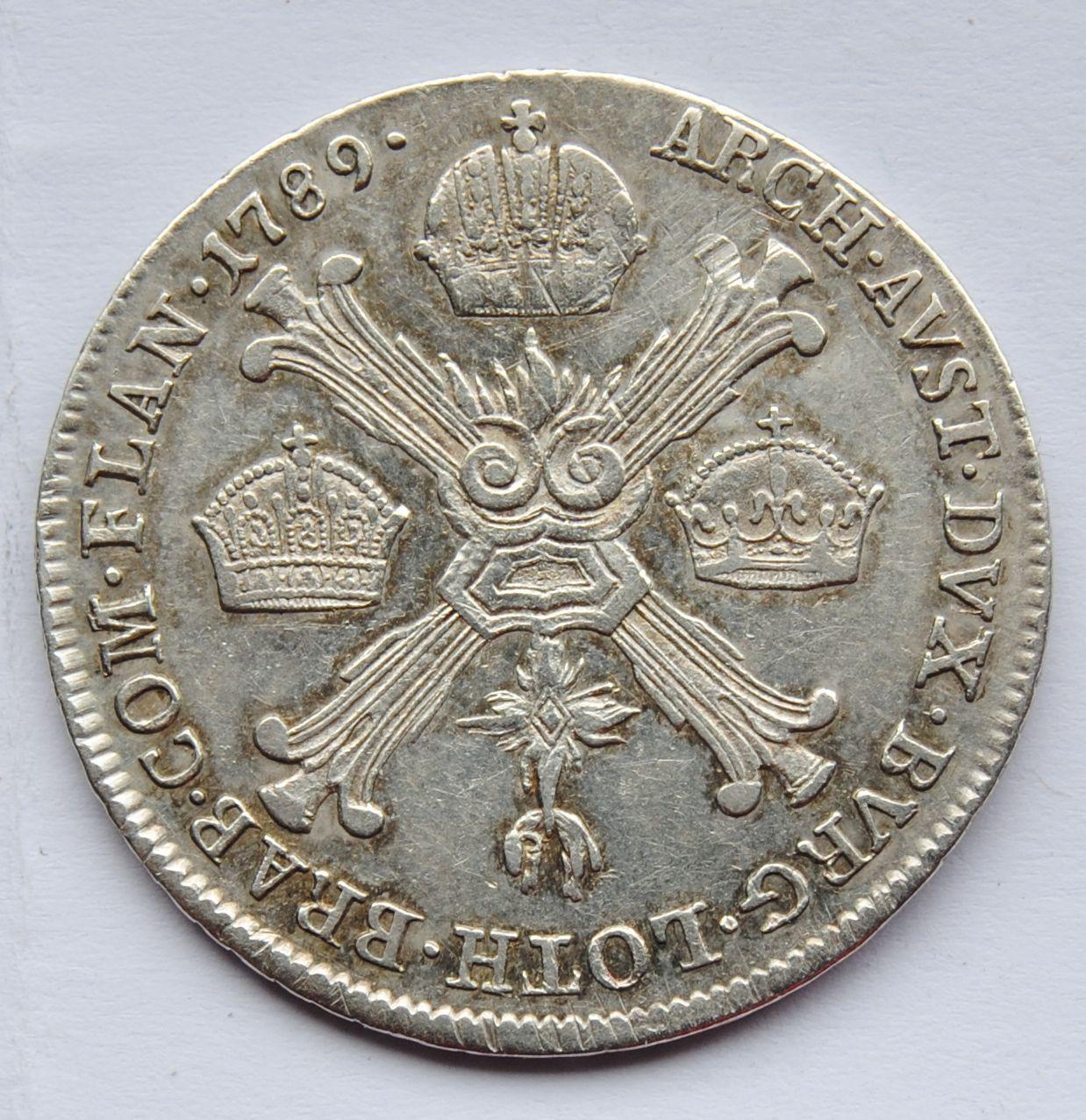Uhry 1/4 Tolar B 1789 Josef II.