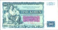 1000Ks/1934-39, přetisk Slovenský Štát/, stav 2+ o.n. perf. 2x SPECIMEN, série H