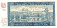 100K/1940/, stav UNC, série 14 A - II.vydání