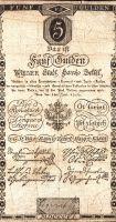 5Gulden/1806/, stav 3- dr.n., série 287216