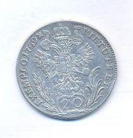 Čechy, 20 krejcar, 1769 C Josef II.