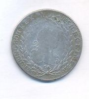Čechy 20 krejcar, 1782 C, Josef II.