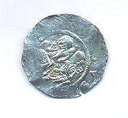 Čechy, denár, Vladislav I. (1140-73)