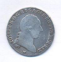 Rakousko, 1/2 tolar, 1786 M, Josef II.