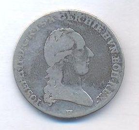 Rakousko, 1/4 tolar, 1788 H Josef II.
