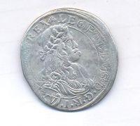 Rakousko, 15 krejcar, 1664, CA Vídeň,  Leopold I.