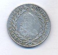 Rakousko, 20 krejcar, 1772 H, Josef II.