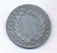 Rakousko, 20 krejcar, 1787 F Josef II.