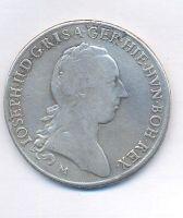 Rakousko, tolar křížový, 1790 M, Josef II.