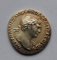 Řím - císařství, Denár, Trajanus 98-117 - KOPIE