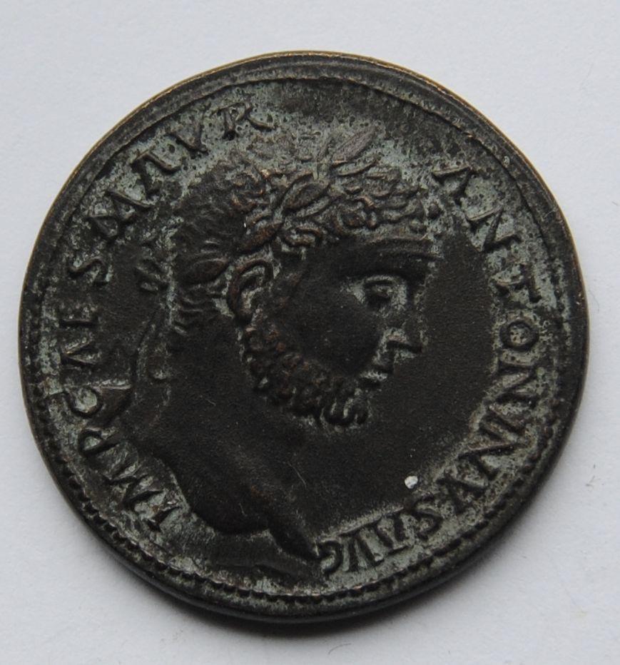 Řím - Sestercius, Caracalla 198-217 - KOPIE