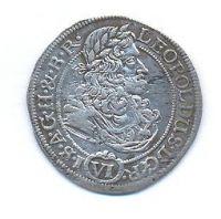 Slezsko, 6 krejcar, 1688 SHS Vratislav, Leopold I.
