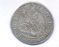 Uhry, 1/2 tolar, 1695, KB Kremnica, Leopold I.