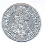 Uhry, 15 krejcar, 1675 KB Leopold I.