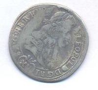 Uhry, 15 krejcar, 1687 KB Leopold I.