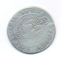 Uhry, 15 krejcar, 1690 KB Leopold I.